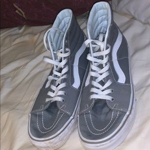 Grey Hightop Vans